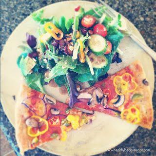 Whole Wheat Pizza Dough Recipe  www.healthybecauseican.com