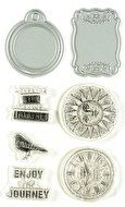Mason Jar Stamp, Die Cut & Emboss Set by Momenta (4008932)