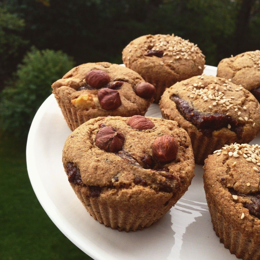 glutenfria muffins utan ägg
