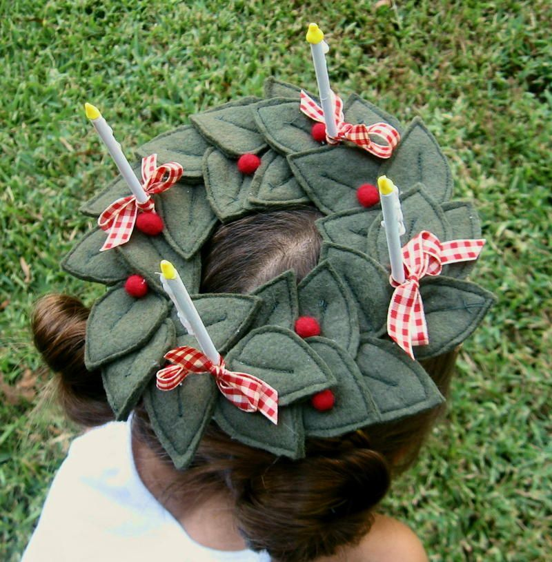 Image Detail For Cozy As Spring S Amazing St Lucy Crown She Posts