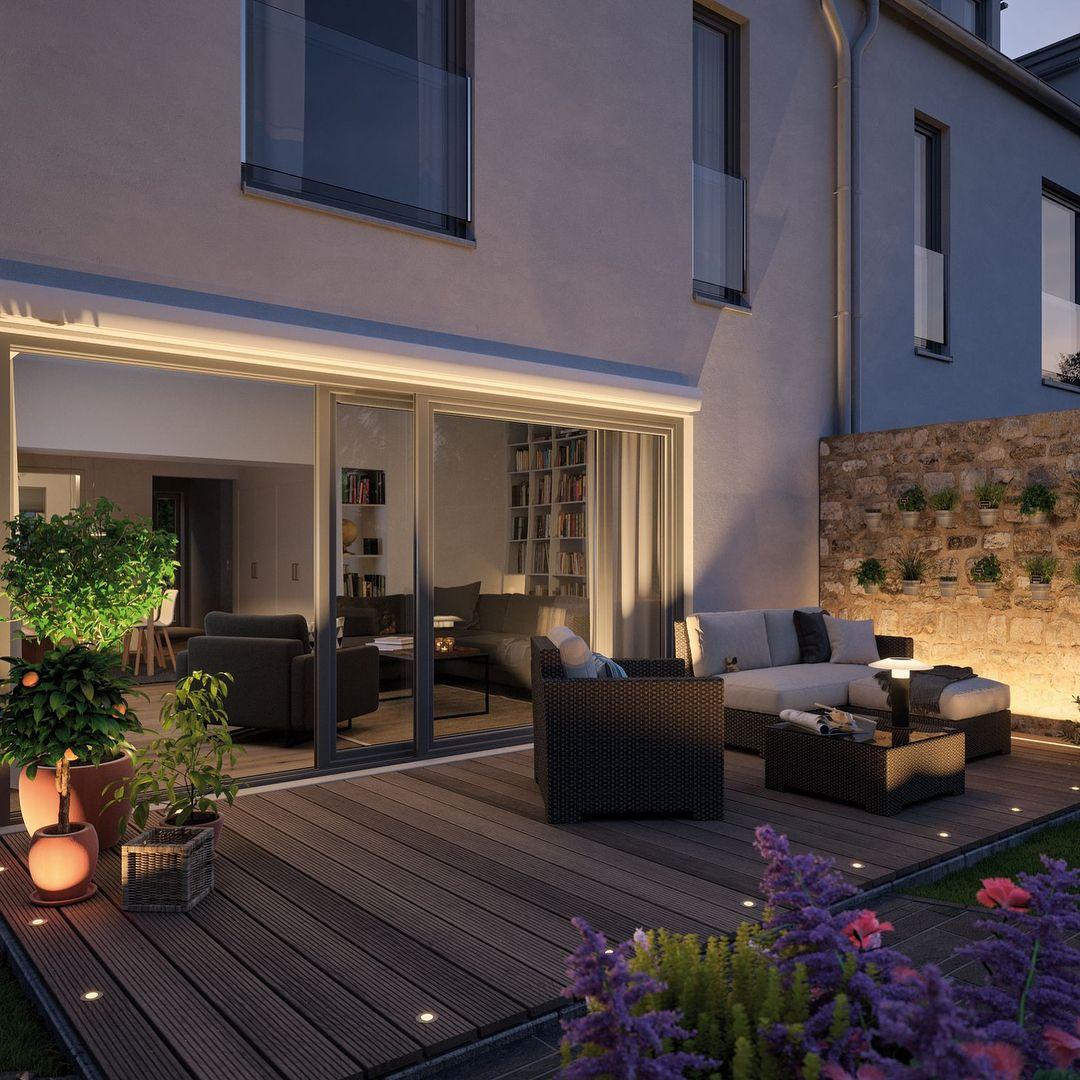 Konnt Ihr Die Gartensaison Auch Kaum Noch Erwarten Mit Der Richtigen Beleuchtung Wird S Jetzt Auch Dra Outdoor Living Room Outdoor Living Outdoor Living Rooms