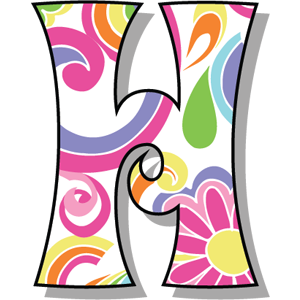Buchstabe Letter H Lettering Alphabet Alphabet Templates Fancy Letters