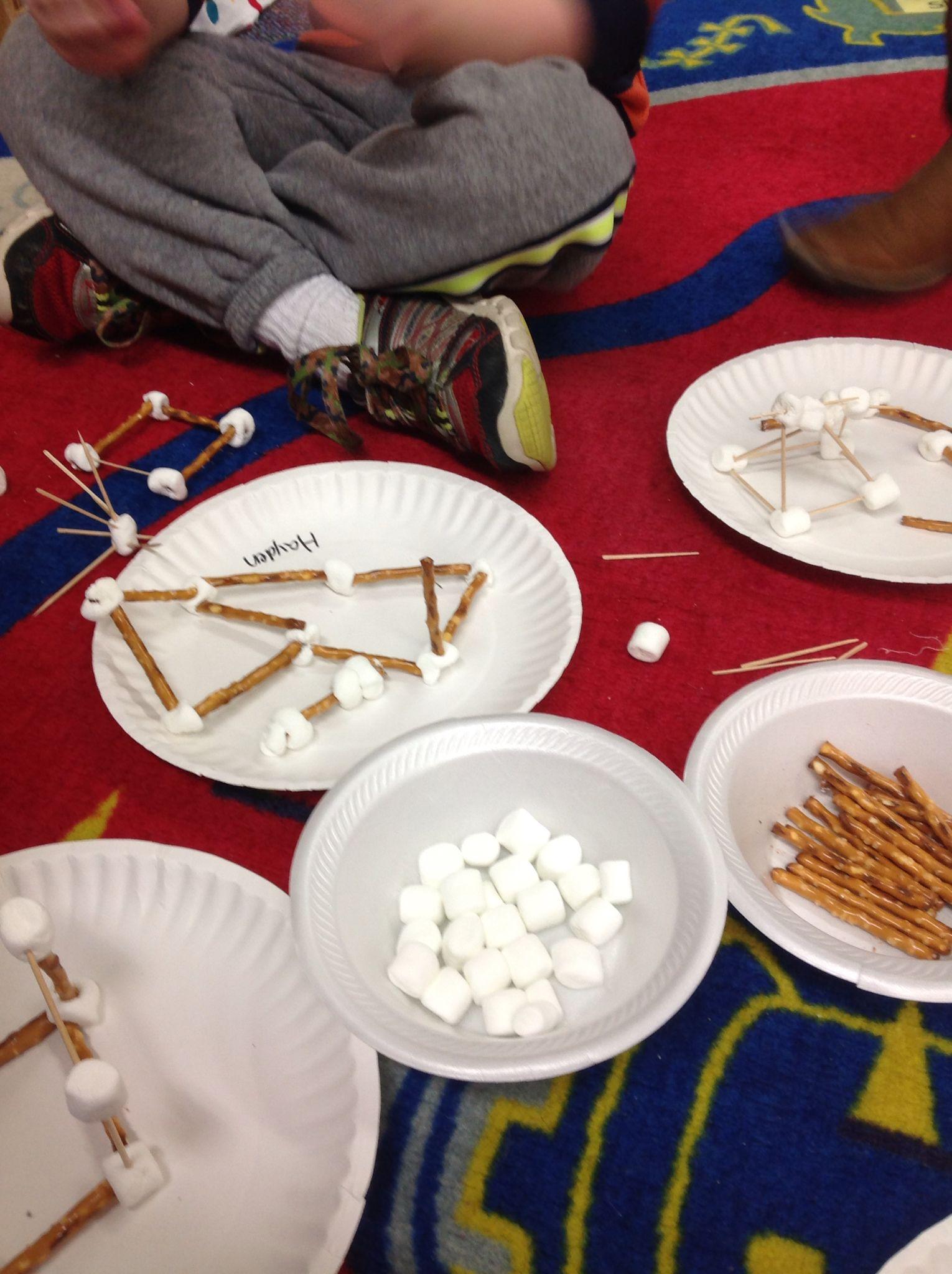 Buildings Study Kids Could Choose Between Pretzel Sticks