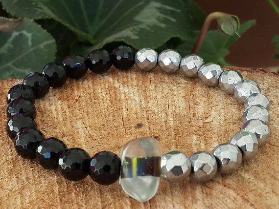 Gift for Valentine's Day Men's Bracelet Stretch by tovvanda