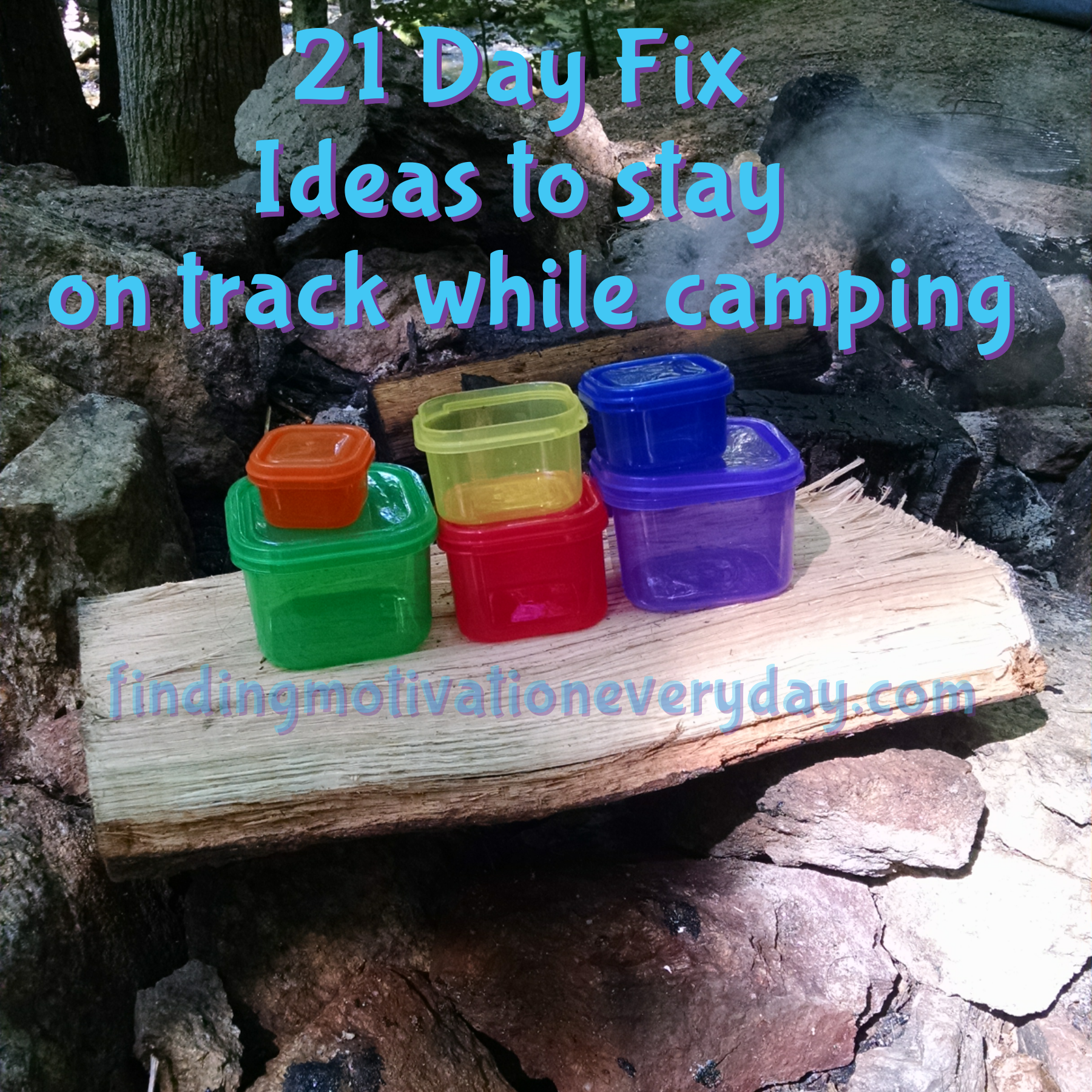 21 Day Fix Approved Camping Ideas 21 Day Fix Camping Tips