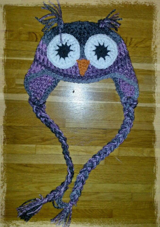 Owl crochet beanie baby