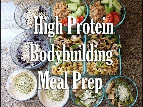 High Protein Vegan Bodybuilding Meal Prep | Vegan Fitness