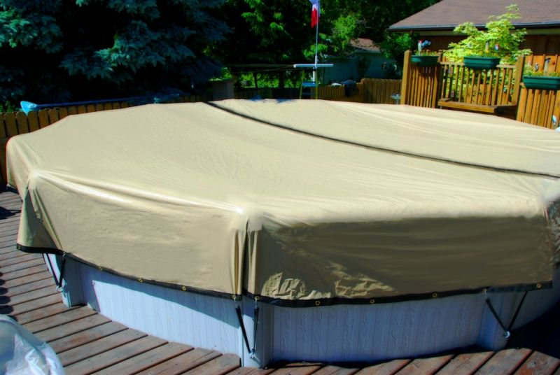 The Best Above Ground Pool Covers | slightlymordant.com | Swimming ...