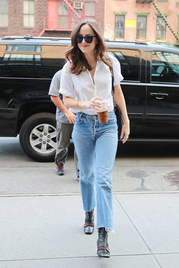 The 6 Shoe Styles Dakota Johnson Always Wears in 2020