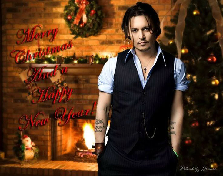 Merry Christmas and Happy New Year from Johnny Depp | Johnny ...