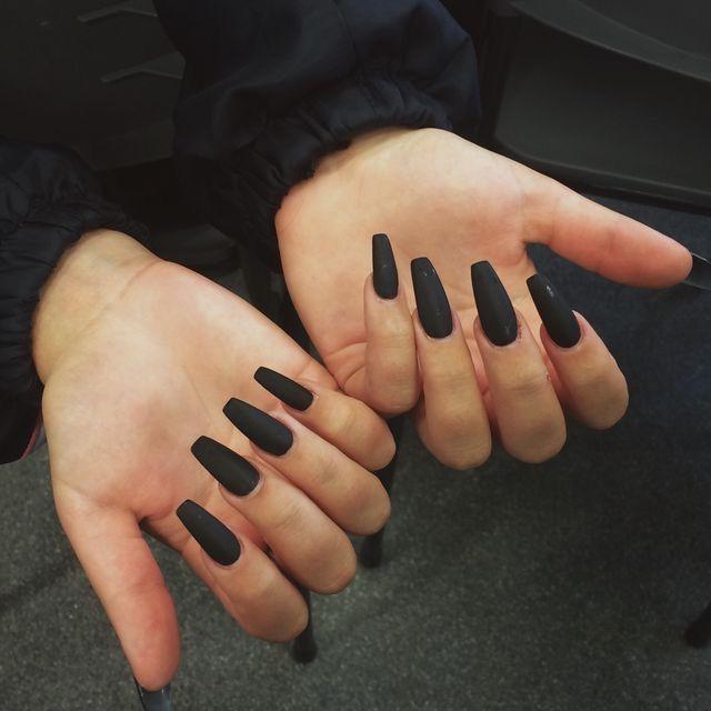 matte black | nails | Pinterest | Matte black