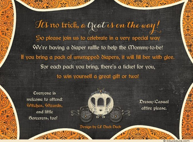 Download Now Halloween Baby Shower Invitations FREE Baby Shower - Halloween baby shower invitations