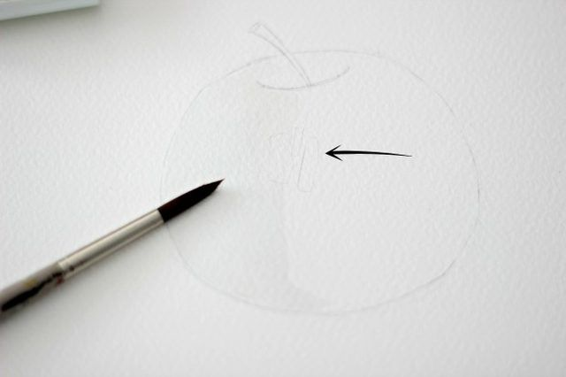 paintinganapplestep3