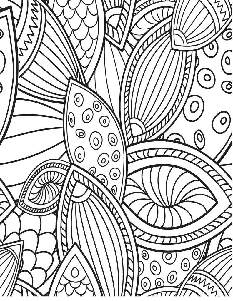 Let Coloring Book Zone Sweep You Away Into A World Of Calming Illustrations With Loving Birthday Wishes To Coloring Books Pattern Coloring Pages Color Of Life