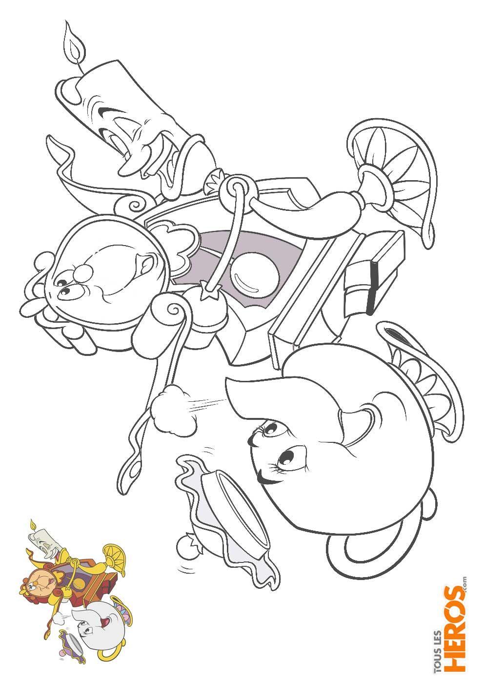 coloriage_la-belle-et-la-bete25.jpg 25×25,25 pixels  Disney