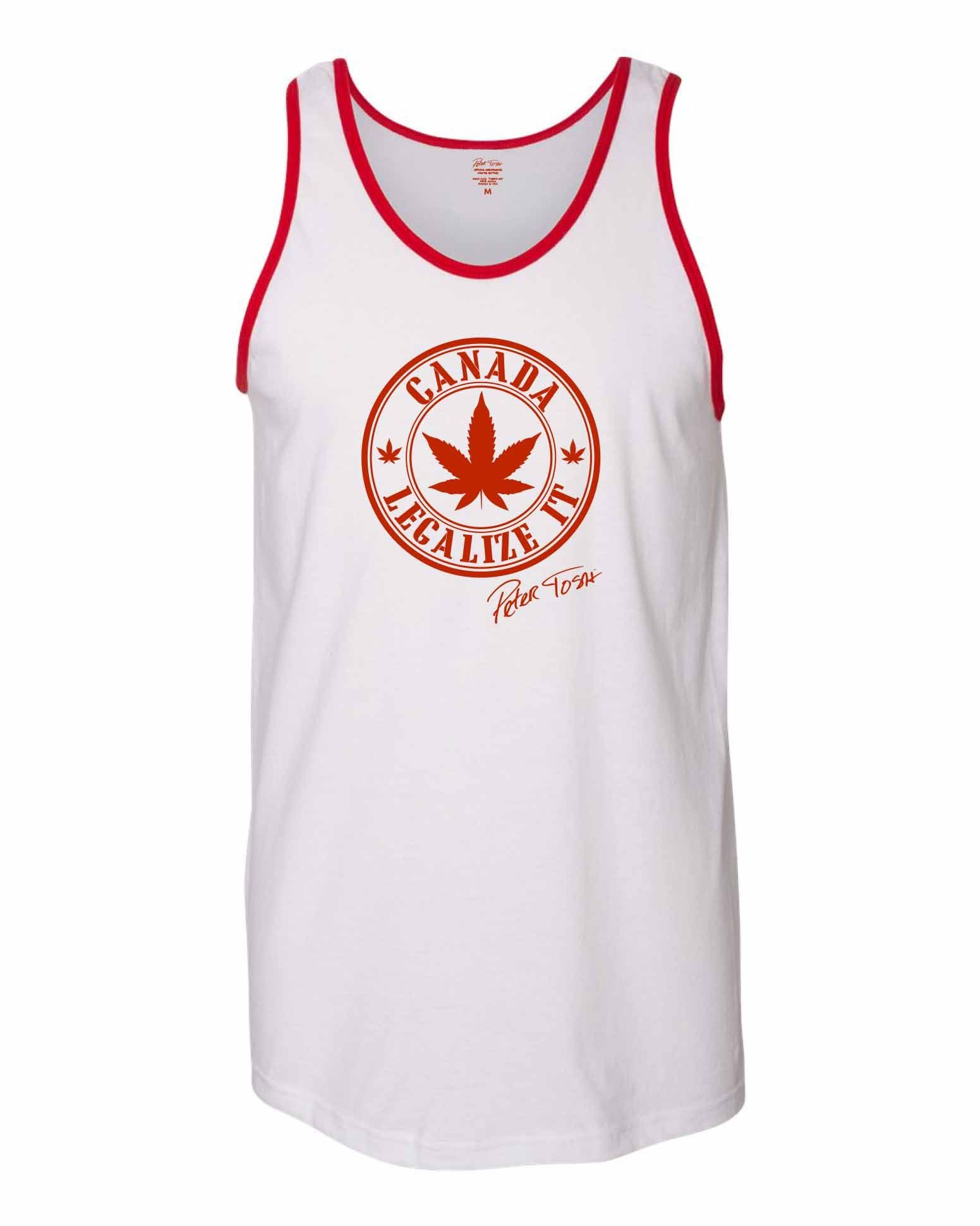 Peter Tosh Legalize It Raglan Tee  be6d391b2a73