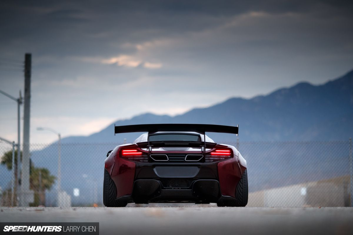 Talking Function With A Liberty Walk McLaren