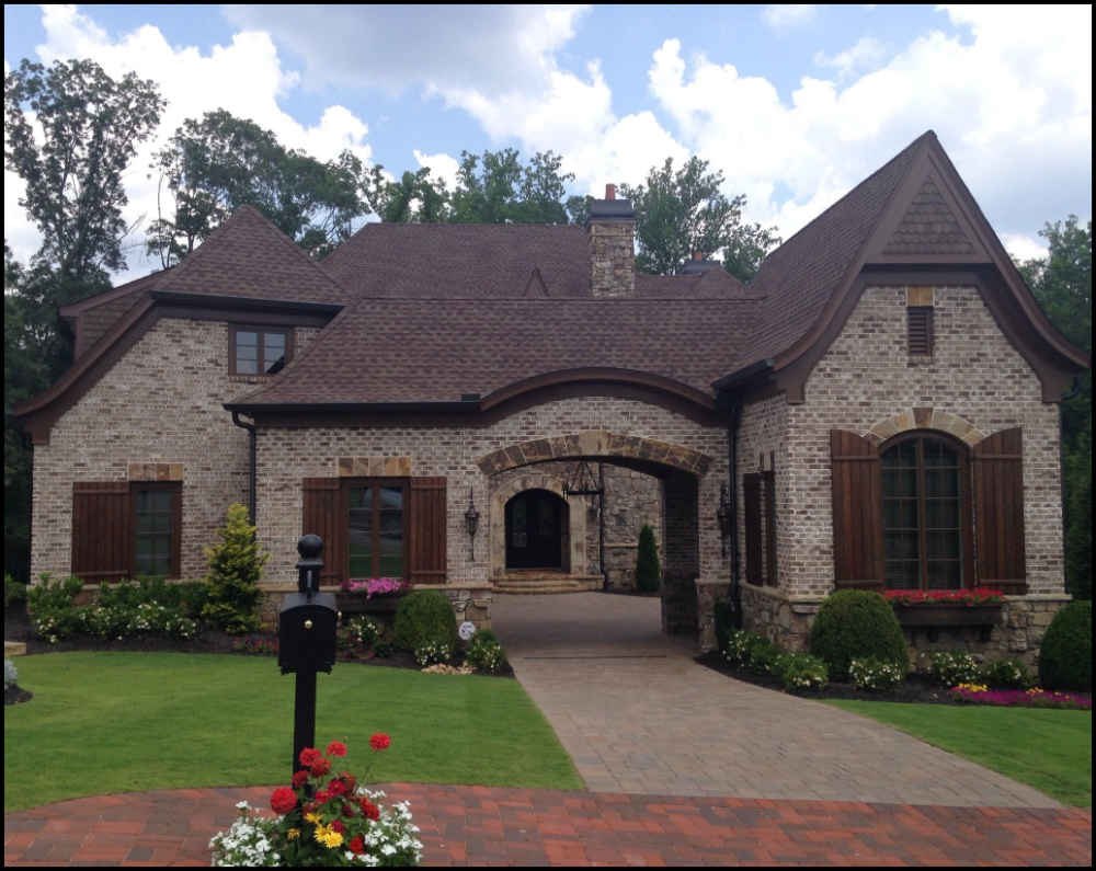 Ideas About Stone House Models Sweet Home Decoration In 2020 Brick Exterior House Exterior Brick Stone Houses