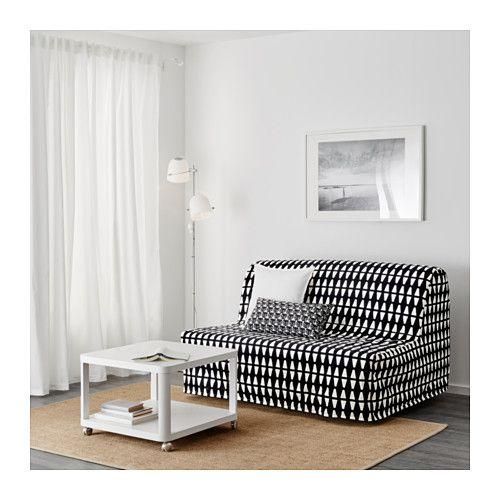 Lycksele L 214 V 197 S Sleeper Sofa Ebbarp Black White In 2019