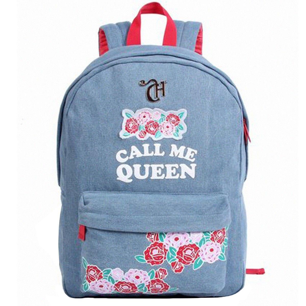 Mochila Capricho Jeans Call Me Queen | Mochila capricho