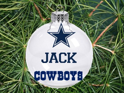 Dallas Cowboys NFL Christmas Ornament by ...