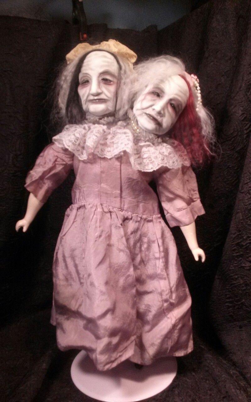 slightly wicked dolls, conjoined twins. | slightly wicked dolls in