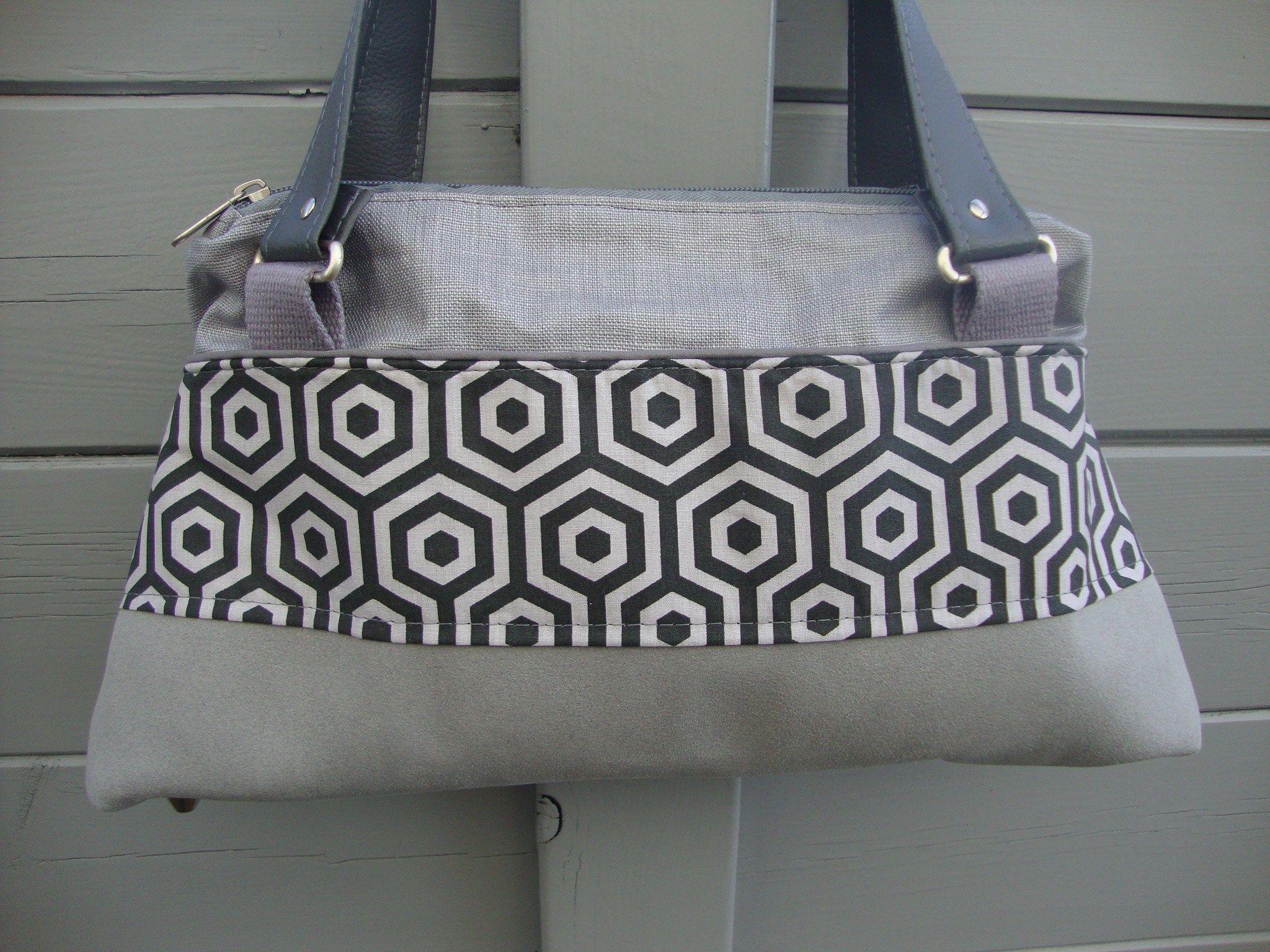 Sac City Zip-Zip cousu par des sacs et encore des sacs - patron Sacôtin