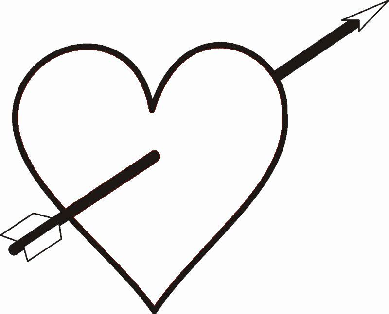 Hearts With Arrows Coloring Pages Awesome Green Arrow Coloring Sheets Coloring Pages Heart With Arrow Heart Coloring Pages Coloring Pages