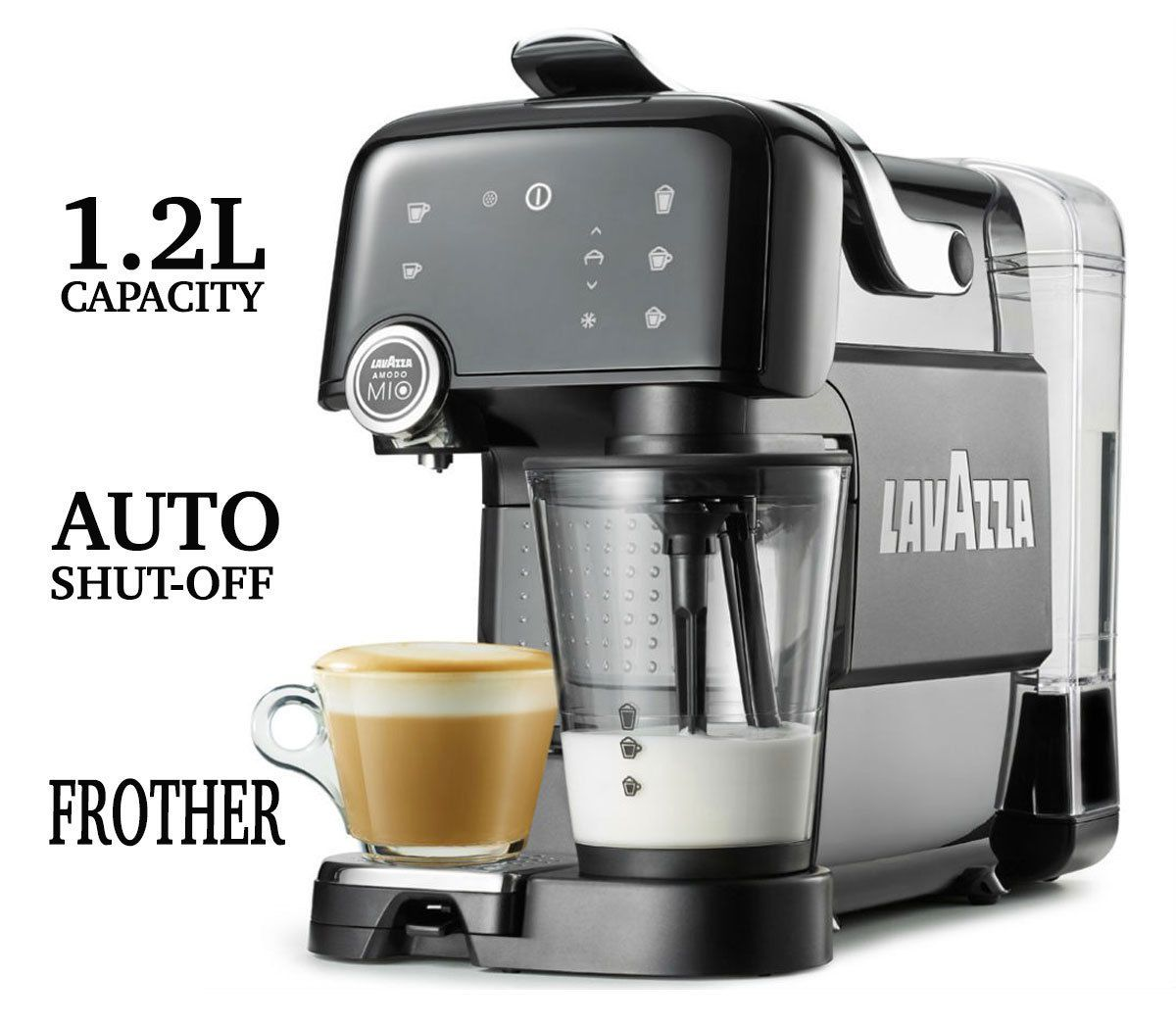 Good Aeg Lavazza A Modo Mio Fantasia #lm7000 #cappuccino #latte Coffee Machine  New, Good Looking
