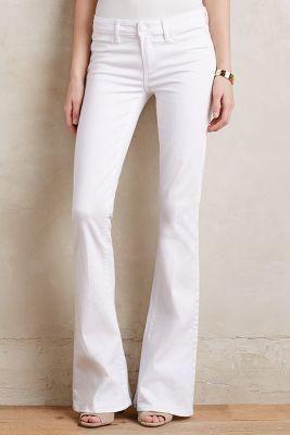 Paige Lou Lou Flare Petite Jeans White $199.00 - Buy it here: http://lmz.co/q7d4Up