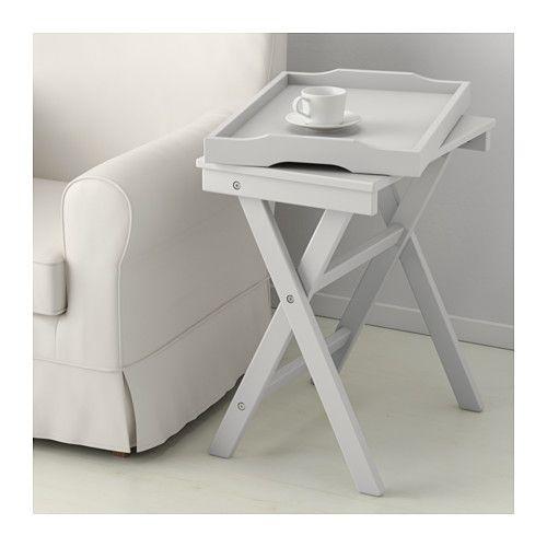 Maryd Tray Table Gray 22 7 8x15x22 7 8 Tray Table Ikea Table
