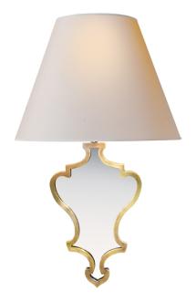 madeline large mirrored sconce by alexa hampton via circa lighting