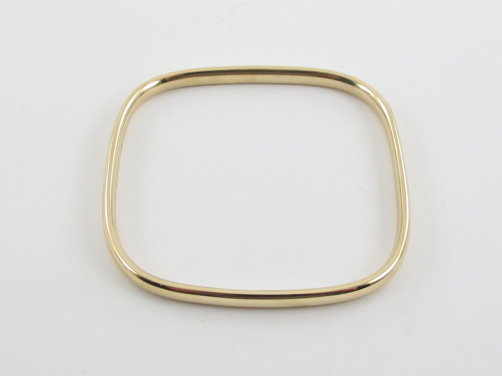 K yellow gold cartier bangle bracelet