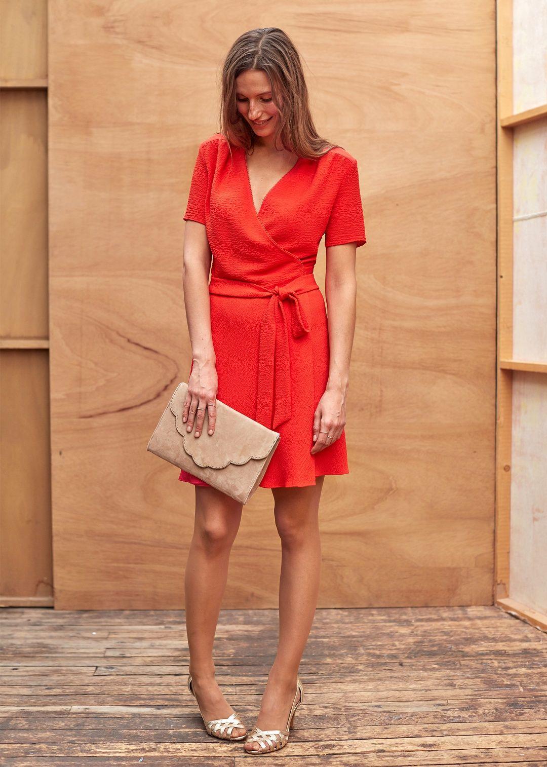 s zane robe rossini fashion robe rouge robe corail mariage et robe. Black Bedroom Furniture Sets. Home Design Ideas