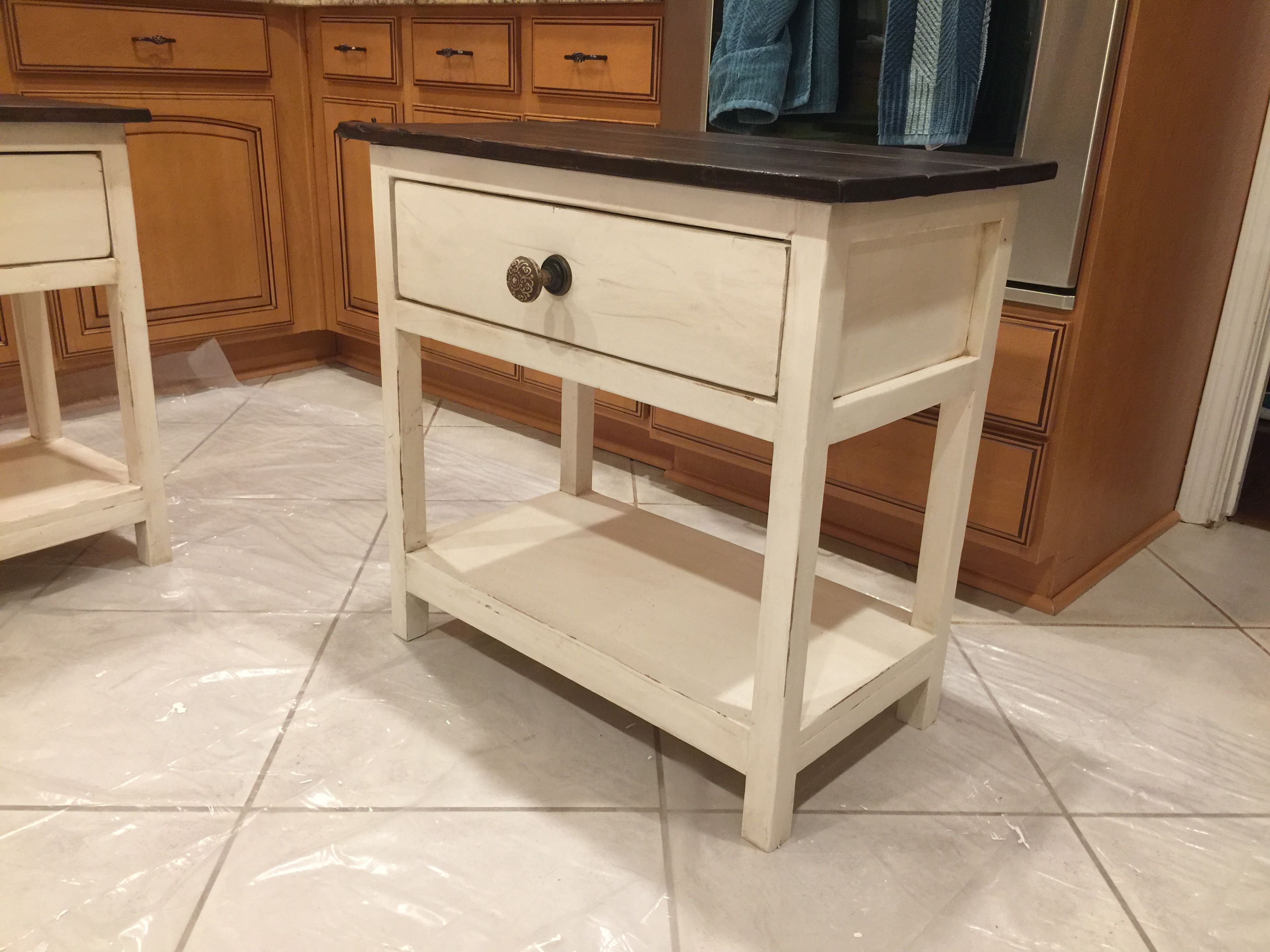 Farmhouse Nightstand From Ana White Plans Farmhouse Nightstand Ana White Plans Entryway Tables