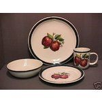 Apple Pattern Dinnerware Set For 8 Casuals Stoneware 04 27 2007