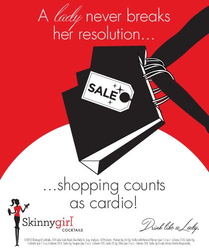 """A #lady Never Breaks Her #resolution... #shopping Counts"