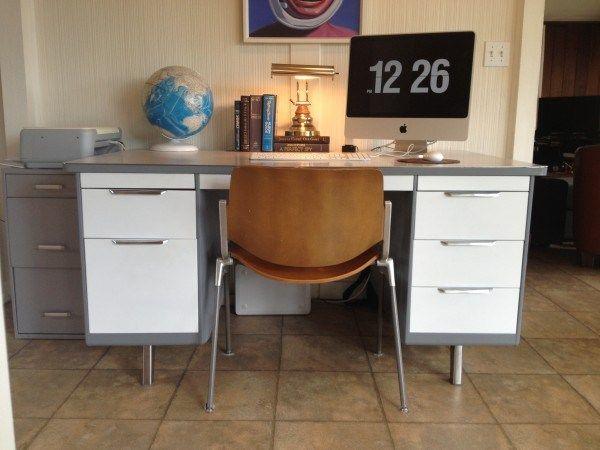 Diy Tanker Desk Tanker Desk Desk Living Dining Room