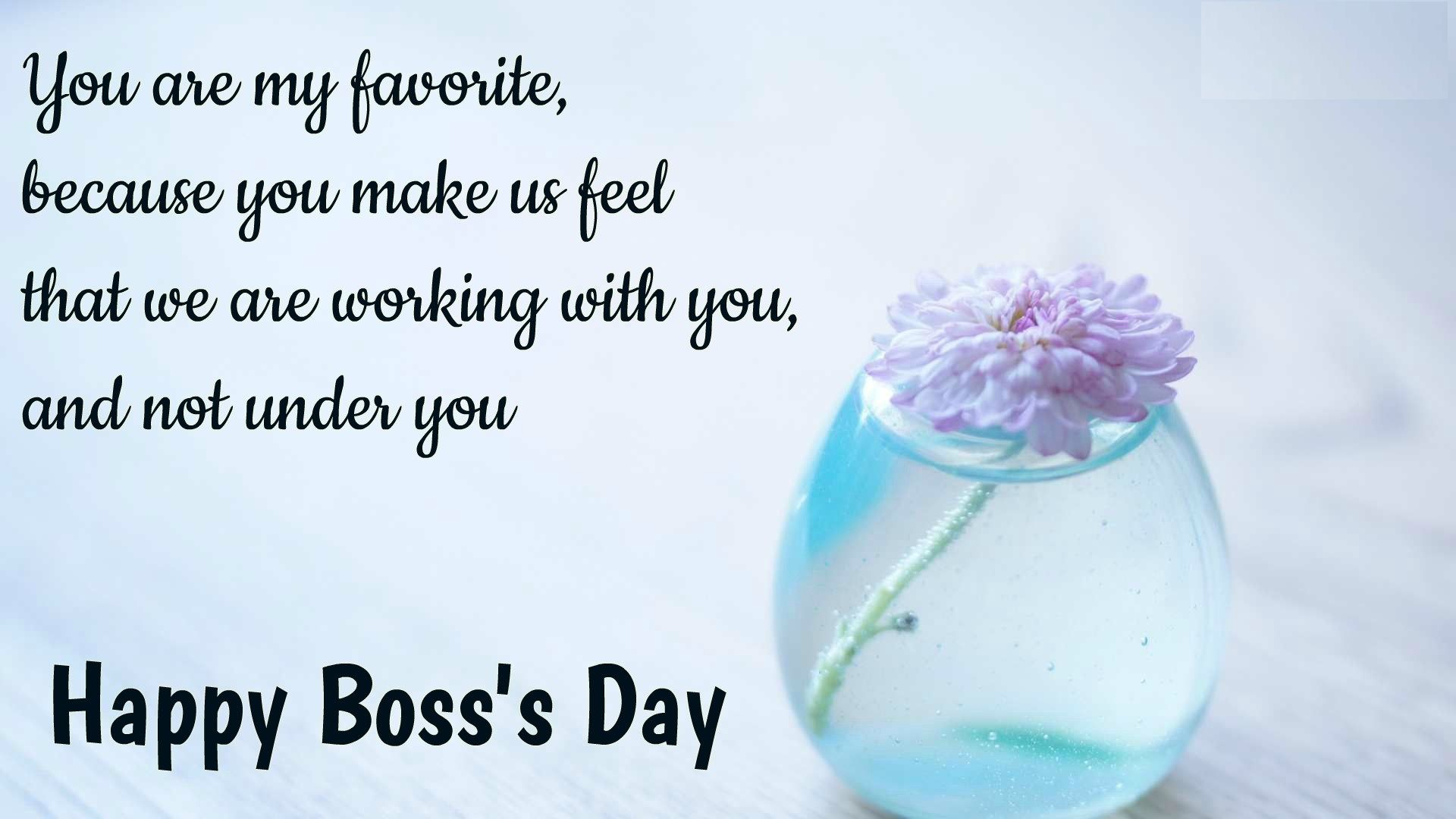 Boss Day Positive Quotes | Boss day quotes, Happy boss's day quotes, Happy  boss's day