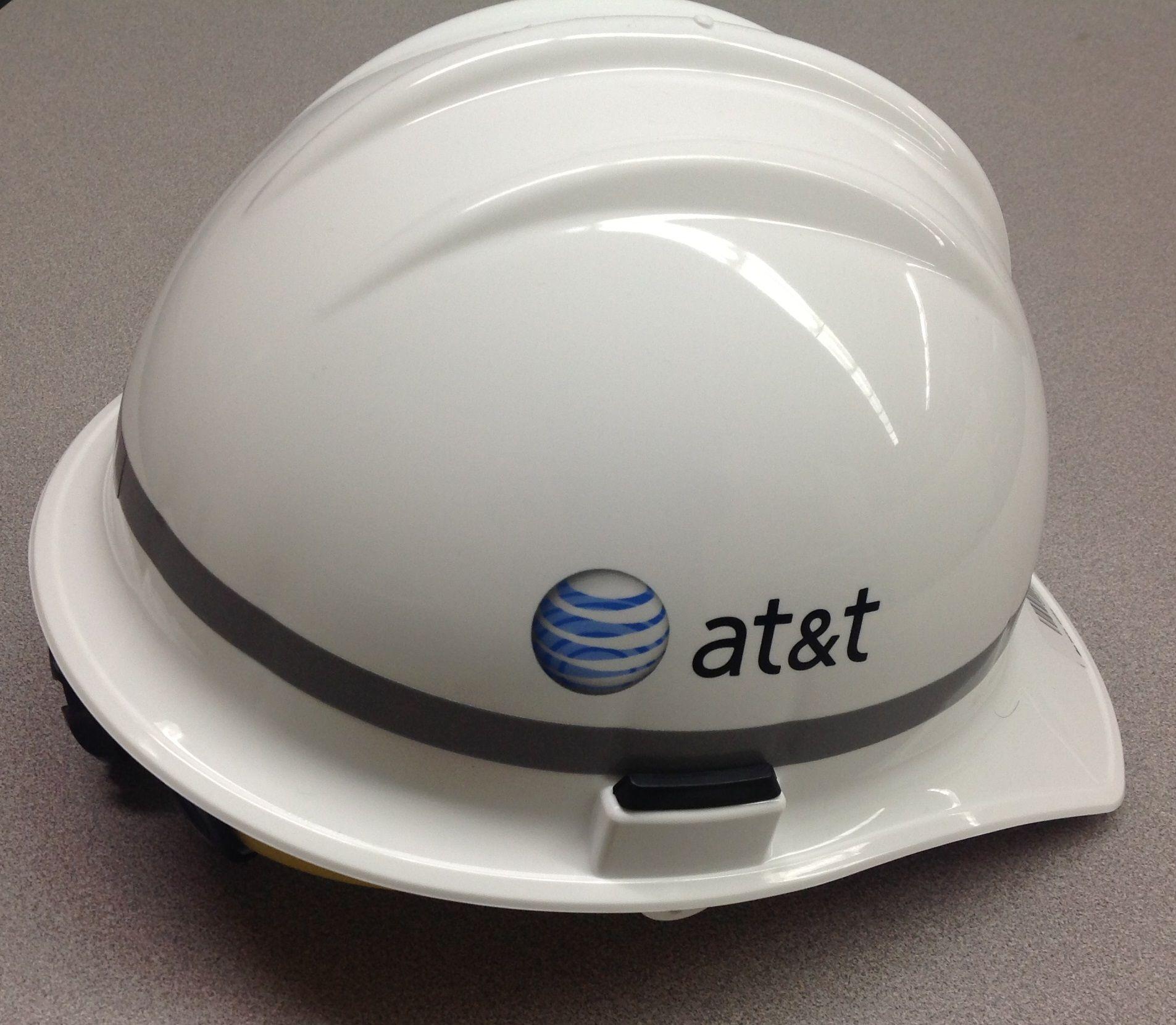 AT&T Hard hat (circa 2013). Telephone, Tools