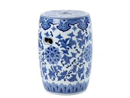 blue and white ceramic stool   ceramic decorative stool with lid   ornamental blue and white  sc 1 st  Pinterest & blue and white ceramic stool   ceramic decorative stool with lid ... islam-shia.org