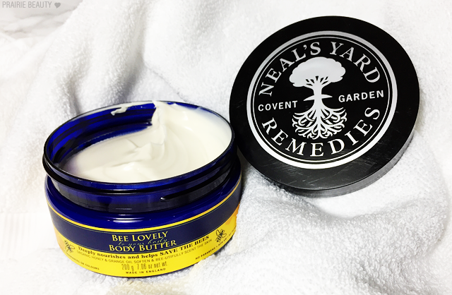 REVIEW Neal's Yard Remedies Bee Lovely Body Butter in