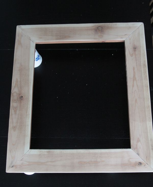 how to build a DIY wood frame for photos and printables | Diy wood ...