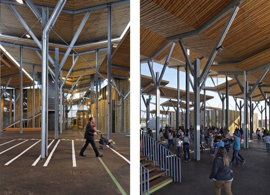 College Aime Cesaire Patrick Arotcharen Architecte College Enseignement Architecte