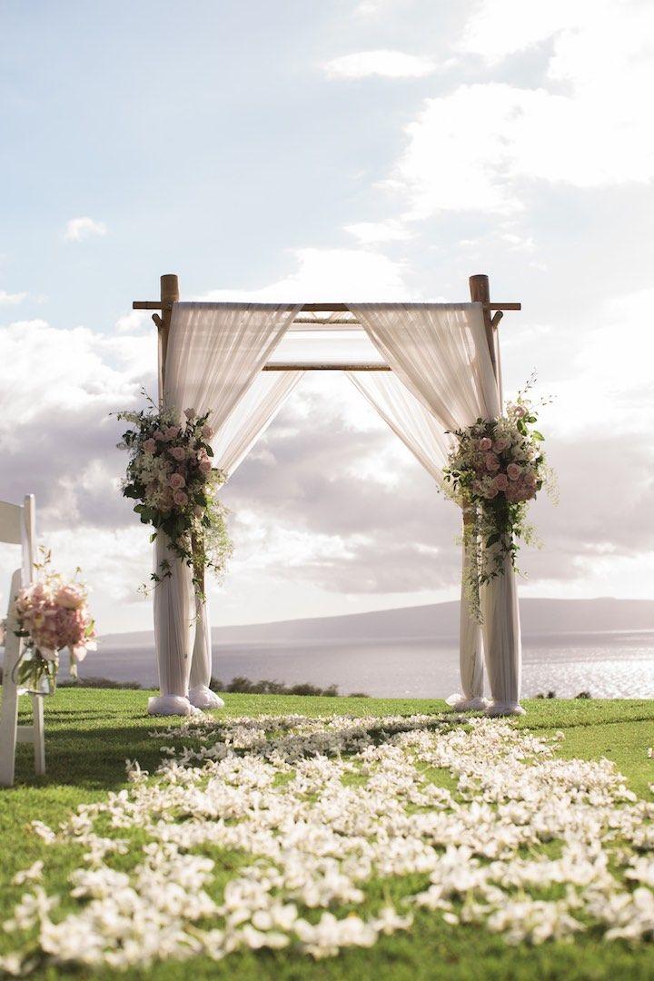 Intimate Maui Wedding with Incredible Views | Wedding ceremony ideas ...
