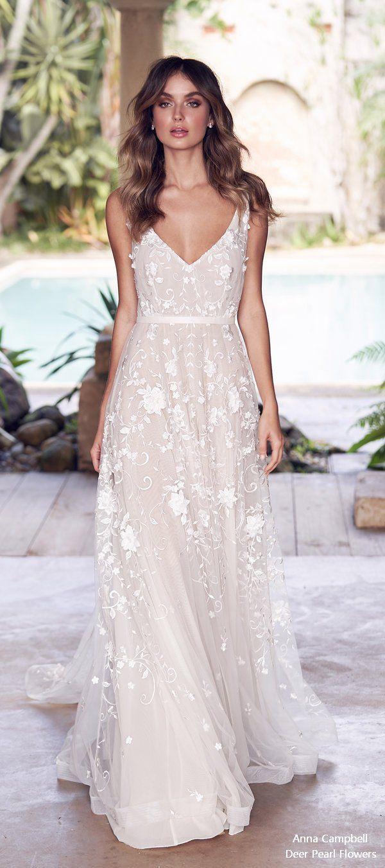 Anna Campbell 11 Wedding Dress #weddings #dresses
