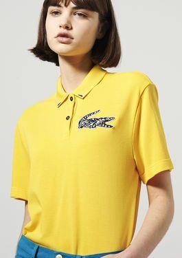 gris polo lacoste femme dfe639b2accd