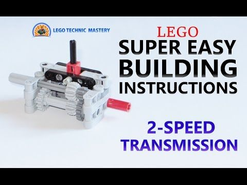 Super Easy Building Instructions 2 Speed Transmission