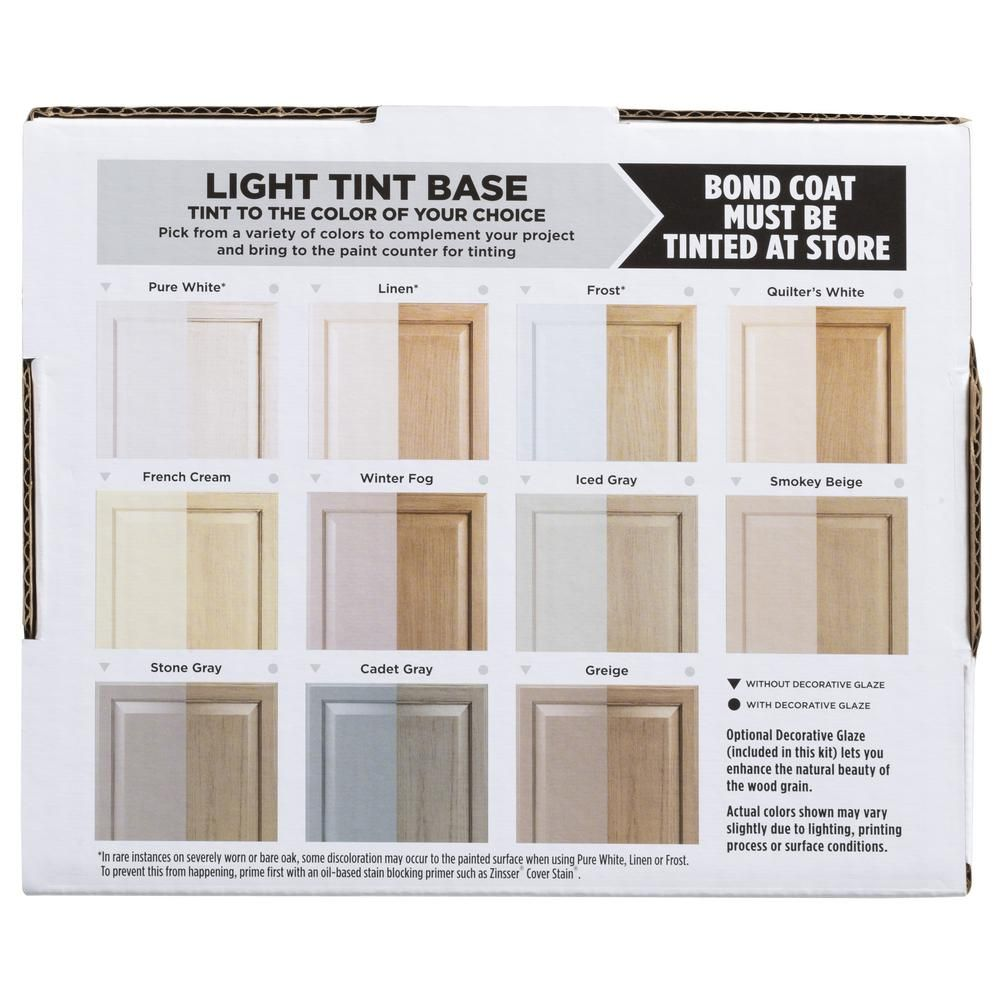 Rust Oleum Transformations Light Color Cabinet Kit 9 Piece 258109 The Home Depot Kitchen Cabinet Colors Beige Stone Rustoleum Cabinet Transformation