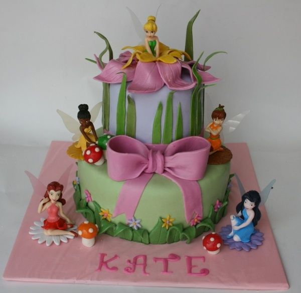 Tinkerbell Birthday Cakes Birthday Party Ideas Pinterest